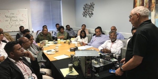 e-End hosted business leaders from Sri Lanka