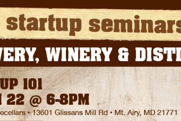 Startup Seminars for Winery, Brewery and Distillery Offered teaser image