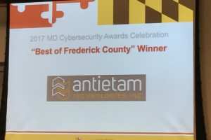 And the Frederick Cybersecurity Winner is……