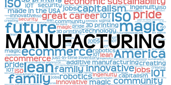 Today is National Manufacturing Day