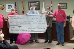 The Town of Thurmont Raises Nearly $100,000 for Patty Hurwitz Breast Cancer Fund in 7 Years