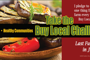 Challenge Accepted! The Buy Local Challenge Begins July 22-30, 2017