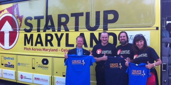 STRT1UP Road Show Brings Pitch Bus to Frederick County for Entrepreneur Competition