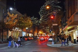 Holiday Shopping in Downtown Frederick