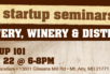 Startup 101: Winery, Brewery, Distillery teaser image